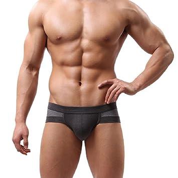 Tongshi La ropa interior de algodón hombres de los cortocircuitos de los boxeadores de los calzoncillos
