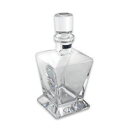Decantador de Whisky de cristal 750 ml BRANDY, licor Sherry Scotch jarra botella de cristal