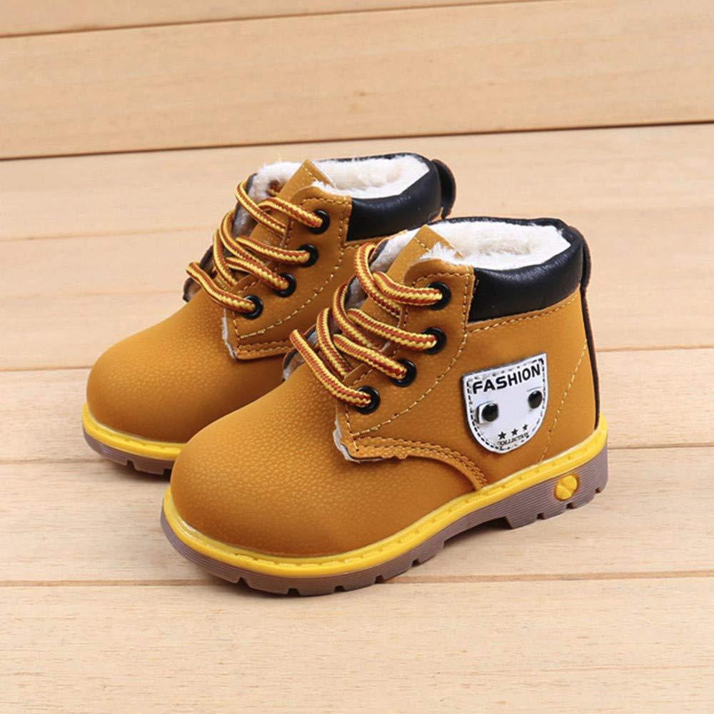 Btruely Warm Kinder Stiefel Mode Warme Baby Sneaker Jungen Mädchen Beiläufig Kleinkind Schuhe