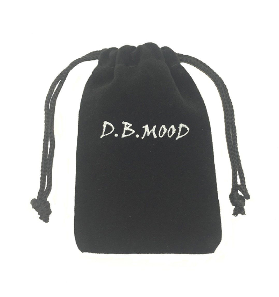 D.B.MOOD Adjustable Genuine Leather Bracelet - Marijuana Weed Leaf Black by D.B.MOOD (Image #6)