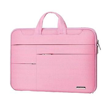 13,3 pulgadas de viaje cartera maletín portátil resistente al agua para mujer: Amazon.es: Oficina y papelería