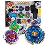 BBwin Battling Tops Fusion Metal Master 4D Launcher Grip Bey Burst Battle Set High Performance Spinning Top Toy