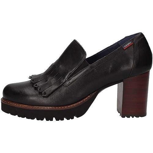 CALLAGHAN 21901 Zapatos de Mujer Bombas con Flecos de tacón de Cuero: Amazon.es: Zapatos y complementos