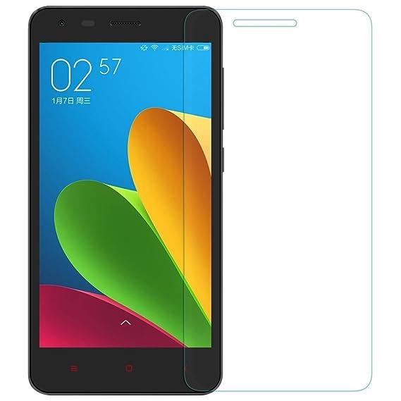 half off 1dca8 4268f Amazon.com: [2 Packs] Xiaomi Redmi 2 Mirror Screen Protector, Redmi ...