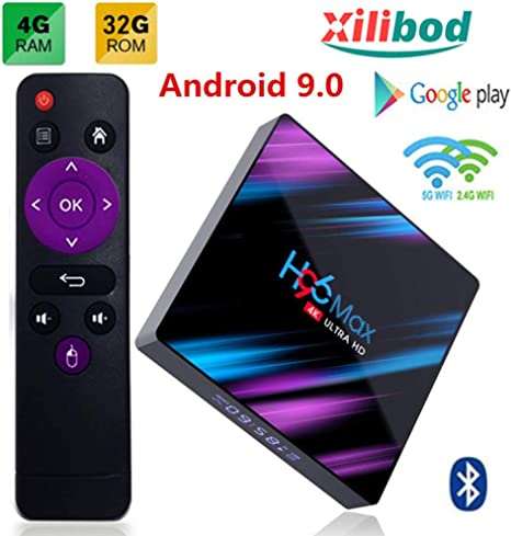 H96 MAX Plus Android 8.1 Ultra 4K HD Smart Streaming TV Box 4GB+32//64GB US STOCK