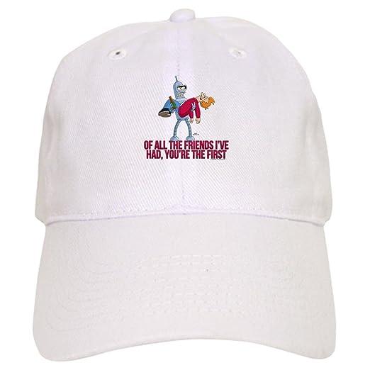 38353f3d787 Amazon.com  CafePress - Futurama All The Friends - Baseball Cap with ...