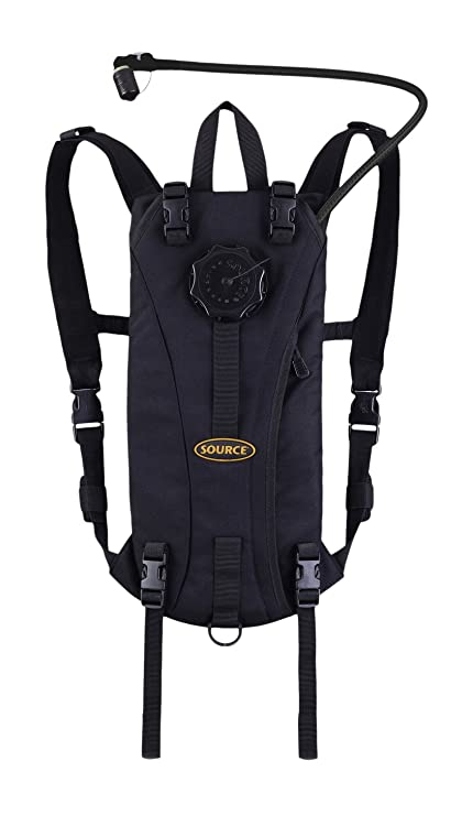 b46bc2efdc Source Tactical Advance Mobility 3-Liter Hydration System Pack, 3 Usage  Modes (Black
