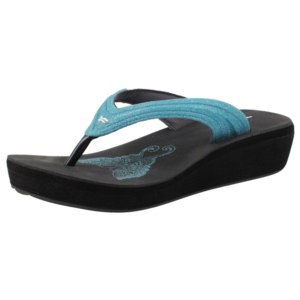 Gold Pigeon Shoes GP Signature Women Flip Flop: 8523 Lt. Blue, EU37