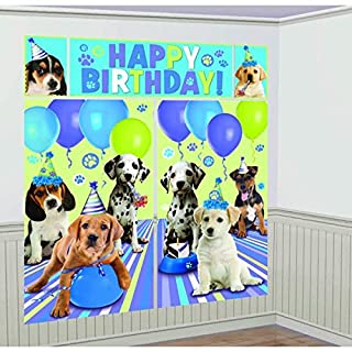 Adorable Party Pups Scene Setter Decoration, Plastic, 6', Pack of 5 (B00BFX7E28) | Amazon price tracker / tracking, Amazon price history charts, Amazon price watches, Amazon price drop alerts