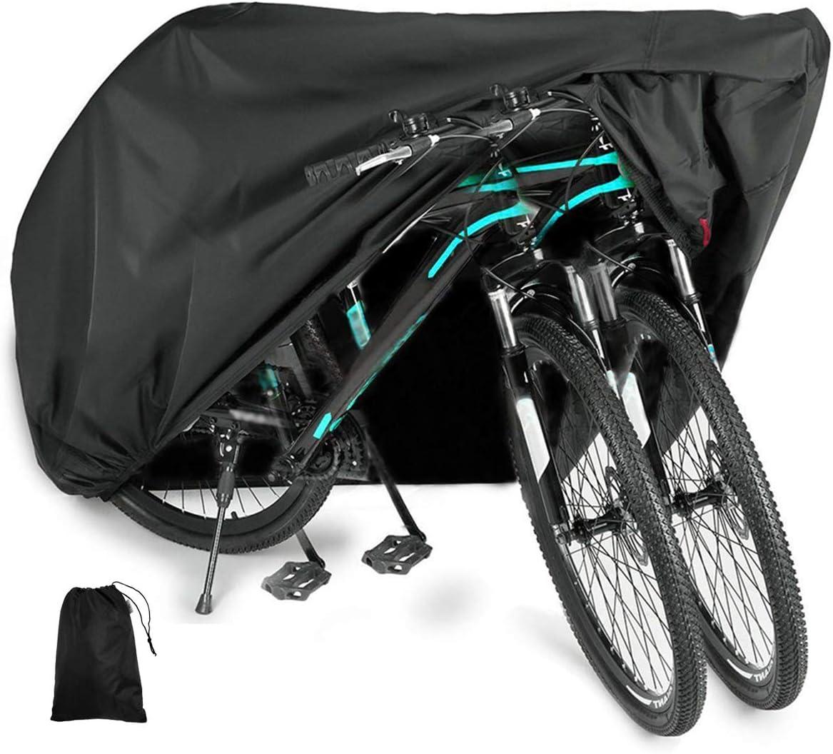 Orion Fahrradabdeckung wasserdicht Abdeckhaube Regenschutz f/ür Fahrrad Motorrad Motorroller Fahrradplane Fahrradh/üllen