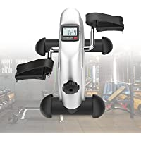 Greensen Mini Exercise Bike, Portable Pedal Exerciser Under Desk Pedal Bike with LCD Display, Home Fitness Leg Arm…