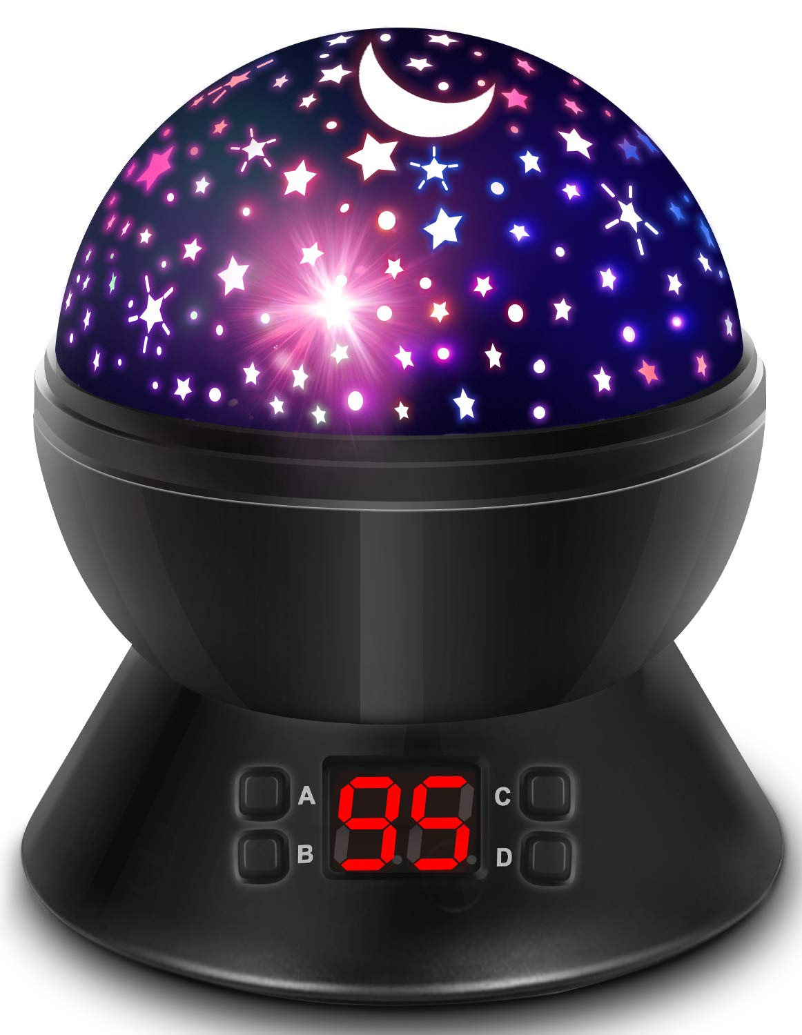 Star Projector for Kids Boys and Girls Gifts, Night Lights for Kids with Timer