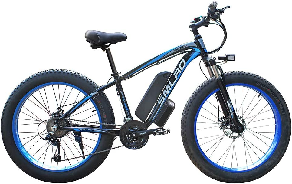 Hyuhome Electric Bikes for Adults Women Men 48V 13AH//15AH 350W//500W//1000W MTB E-Bike with IP54 Waterproof 4.0 Fat Tires 26 Inch 21 Speed Ladies Mountain Bicycle