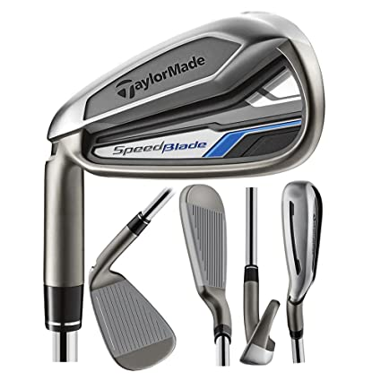 TaylorMade Mens SpeedBlade Golf Complete Set