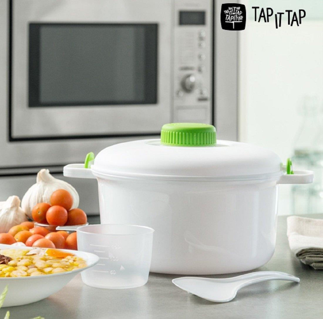 Tap It Tap microondas olla a presión: Amazon.es: Hogar