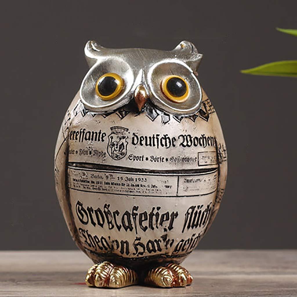 好評 装飾用アクセサリー English ワインセットデコレーション家庭用ワインキャビネット装飾柔らかいフクロウは、任意の装飾品の様々なサイズの樹脂製(複数のスタイルをご利用いただけます) (色 (色 Large : Double English Owl) B07P664Q49 Large English Owl Large English Owl, アンティークとロザリオのスピカ:1863ac74 --- svecha37.ru