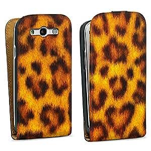 Diseño para Samsung Galaxy S3 i9300 / LTE i9305 DesignTasche black - Leopard Fur