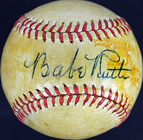 Yankees-Babe-Ruth-Authentic-Signed-OAL-Harridge-Baseball-JSA-Certified