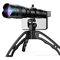 Apexel High Power 36x HD Telephoto Lens with Tripod for iPhone XR,XS MAX,XS,X,8,7,6,6Plus Samsung Smartphone