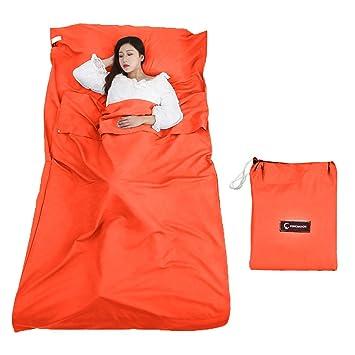 Queta Forro para Saco de Dormir, sábana de Camping para Saco de Dormir, Forro