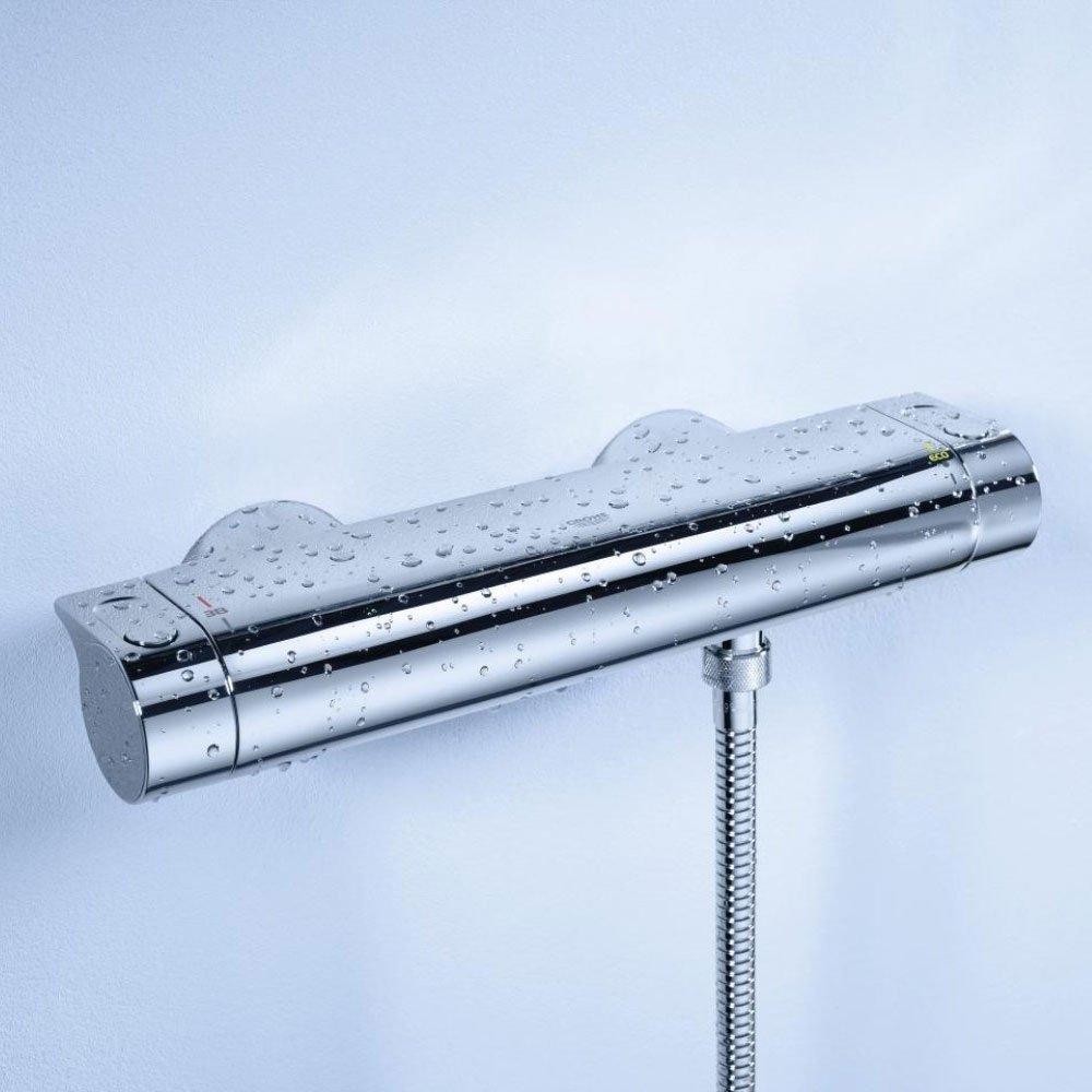 Grohe 34195001 Grohtherm 2000 M/élangeur de douche thermostatique avec kit douche Chrom/é
