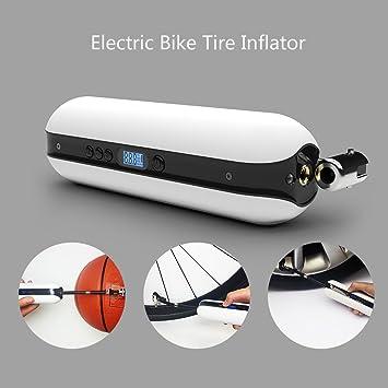 Explopur Inflador eléctrico de Bicicleta 150PSI - Bomba de presión ...