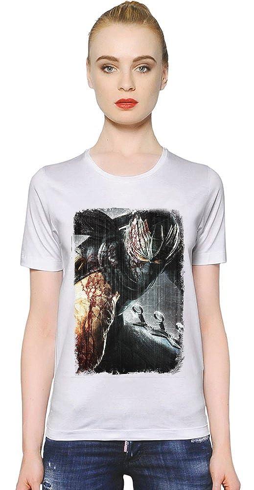 Ninja Gaiden II La camiseta de las mujeres: Amazon.es: Ropa ...