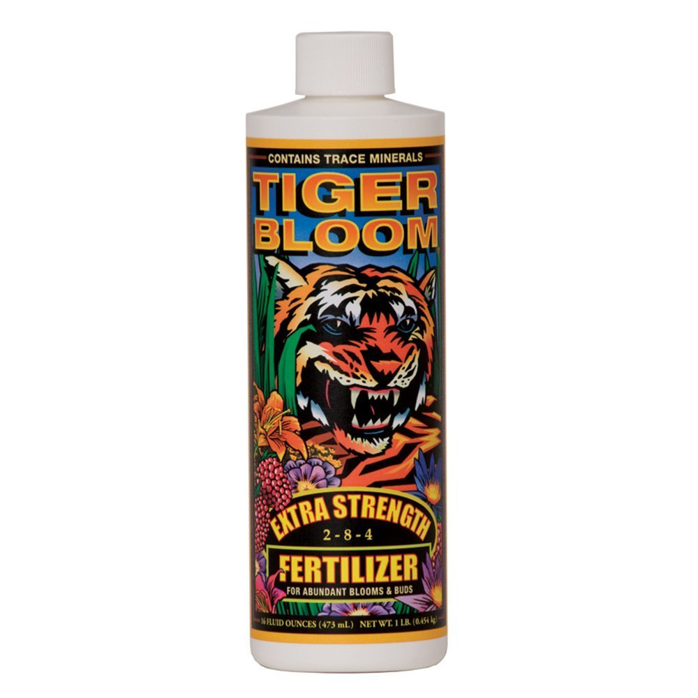 Fox Farm Tiger Bloom Liquid Concentrate Fertilizer, 1-Pint