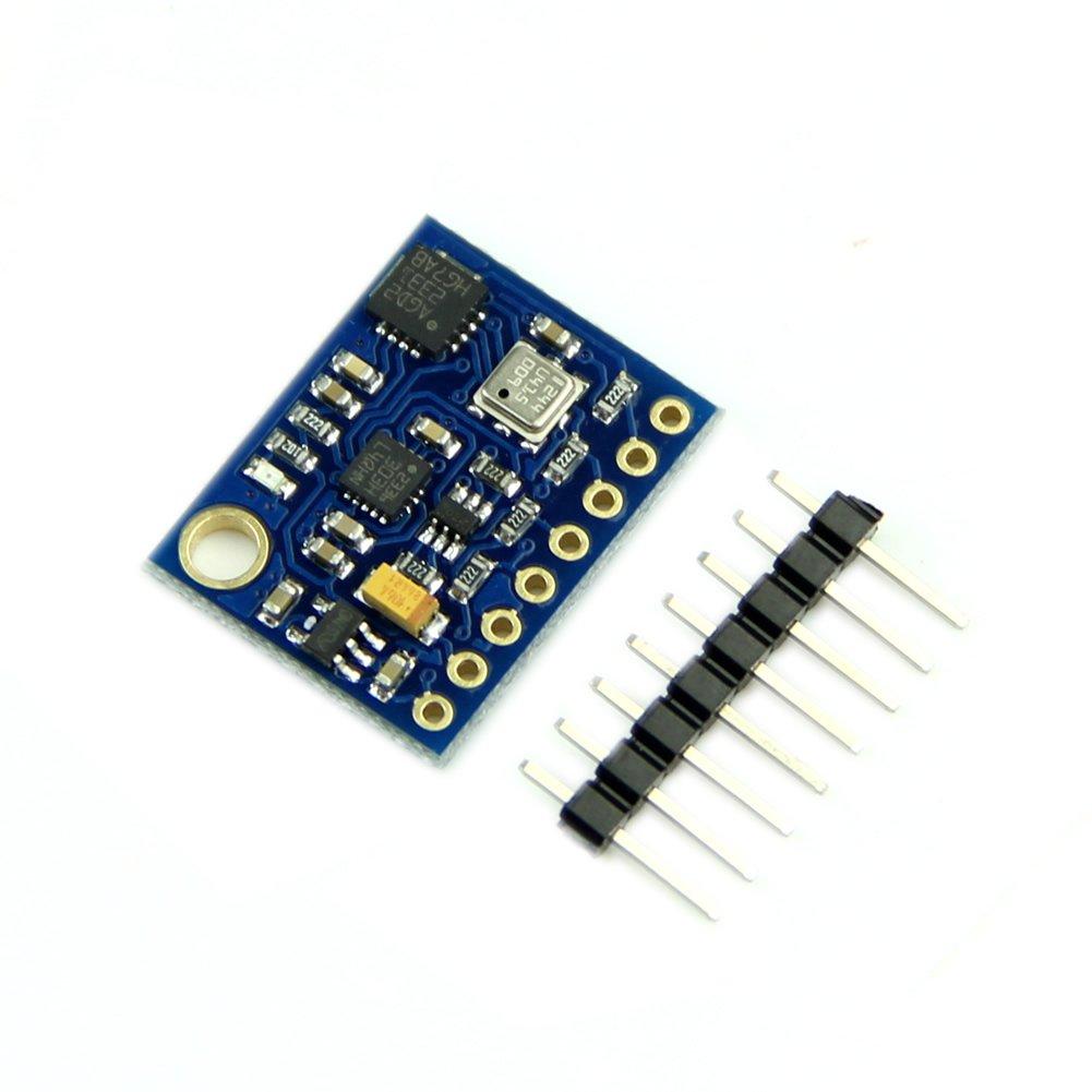 Wrisky 10DOF L3GD20 LSM303D BMP180 Gyro Accelerometer Compass Altimeter For Arduino