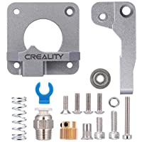 Upgraded Creality Ender 3 All Metal MK-8 Extruder Drive1.75mm Filament, Gray Aluminum Block Bowden Feeder for Ender 3…