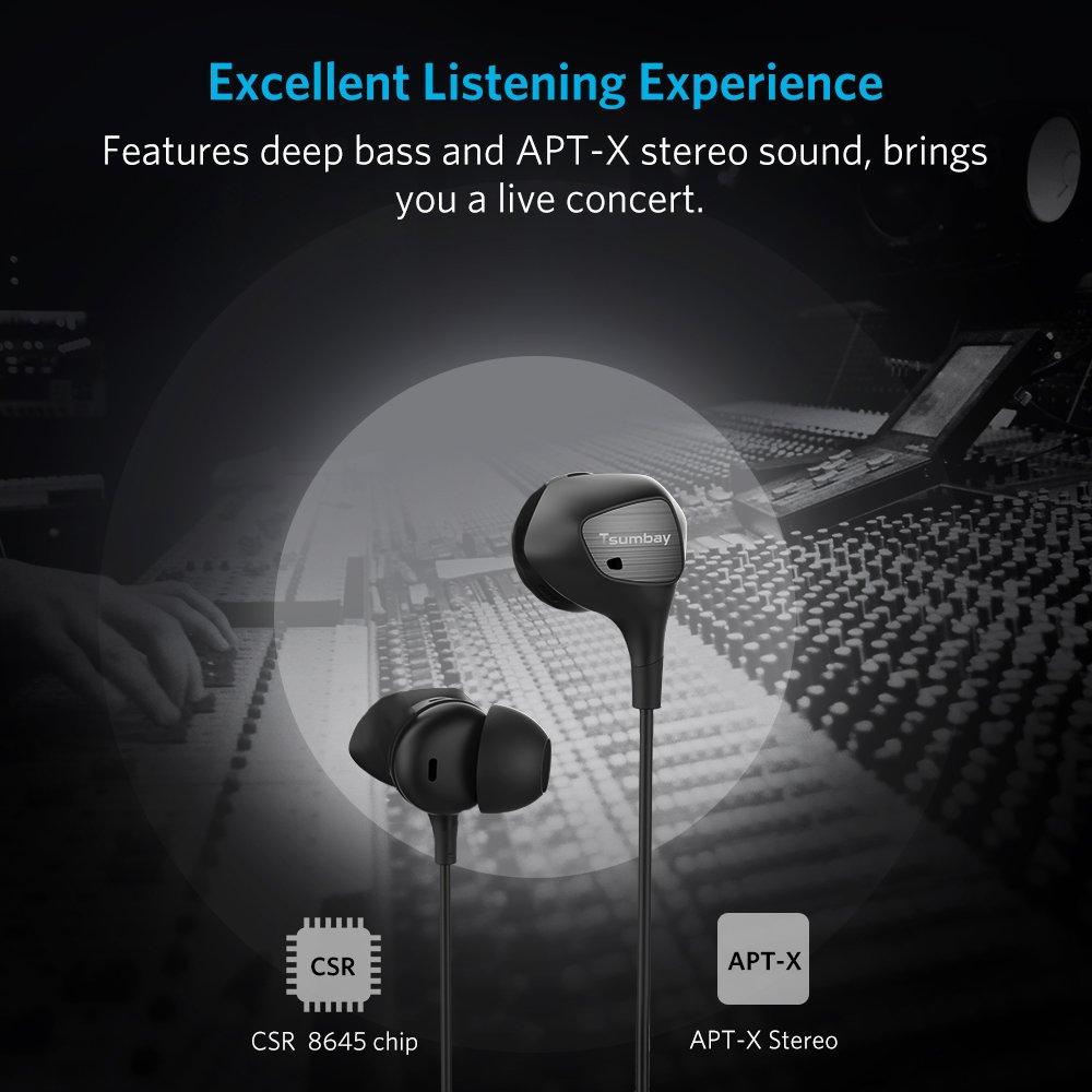 Auriculares Inalámbricos Bluetooth con Cancelación Activa del ruido exterior y micrófono incorporado Aislamiento acústico ANC, APT-X, HiFi Stéreo 200 horas ...