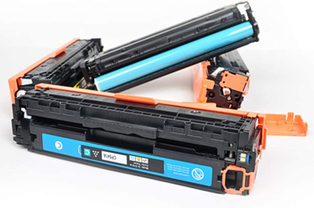 Compatible Toner Cartridges Replacement for HP 131A CF210A CF211A CF212A CF213A for HP M276nw M251nw Color Laser Printer with Chips-Combination