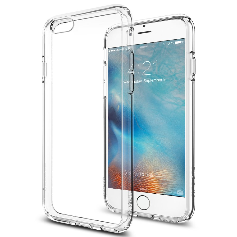 Spigen Ultra Hybrid iPhone 6S Case with Air Cushion Technology and Hybrid Drop Protection for iPhone 6S / iPhone 6 - Crystal Clear by Spigen (Image #2)