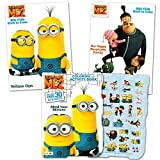 Despicable Me Minions Coloring and Activity Book Set with Stickers (3 Coloring Books)
