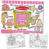 Melissa & Doug Jumbo Coloring Pad - Pink