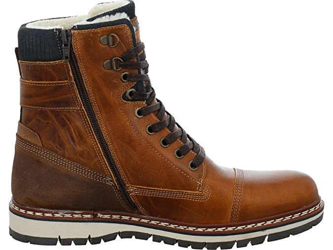 BULLBOXER Men's 877-k8-5850a-tano Boots brown tan: Amazon.co.uk: Shoes &  Bags