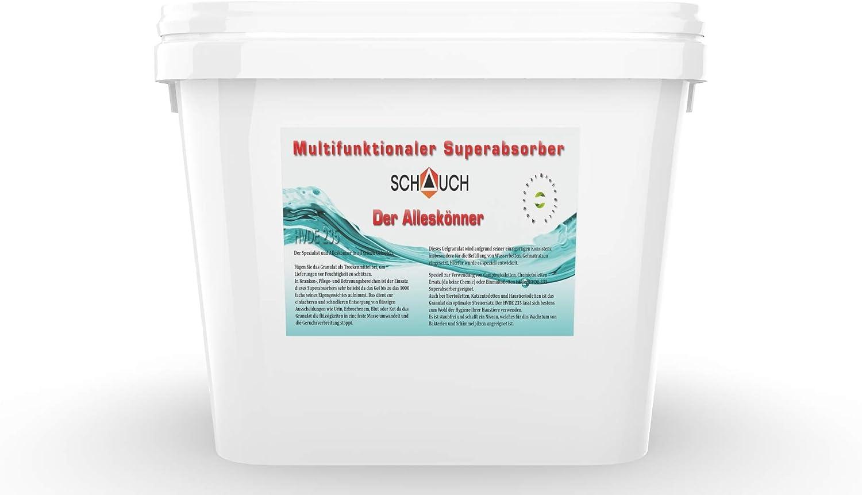 Schauch HVDE 235 Granulado para colchones de gel, para transformar fácilmente las camas de agua en camas de gel, también para camas de agua con estabilizador de napa.
