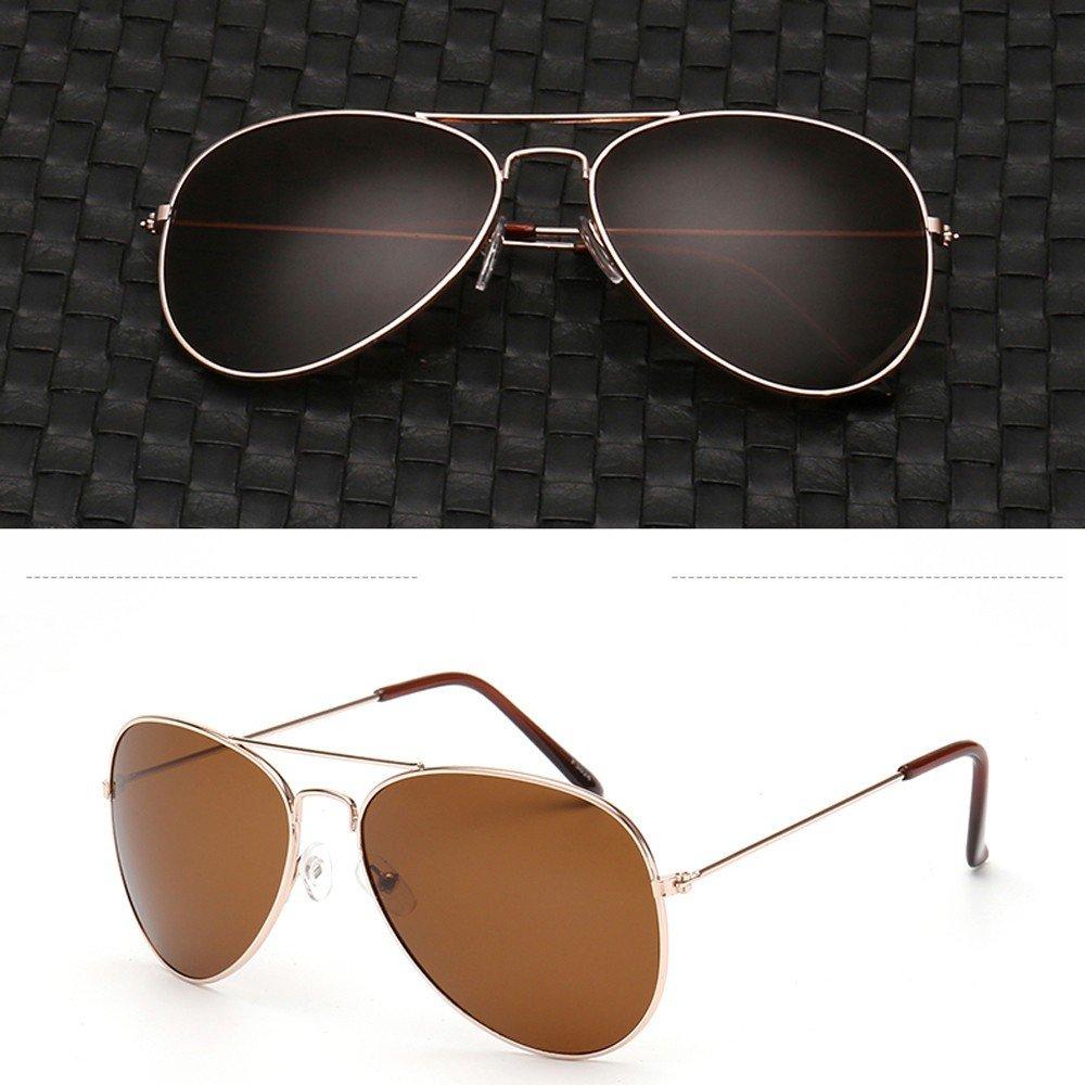 Aotifu Sunglasses for Men Women Aviator Polarized Mirror with Case Metal UV 400 Lens Protection Vintage Retro Glasses