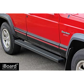 Fits 84-01 Jeep Cherokee 3 Inch Stainless Steel Side Steps Running Boards