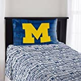 NCAA Michigan Wolverines ''Anthem'' Twin Sheet Set