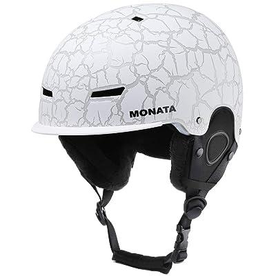MONATA Ski and Snowboard Helmet