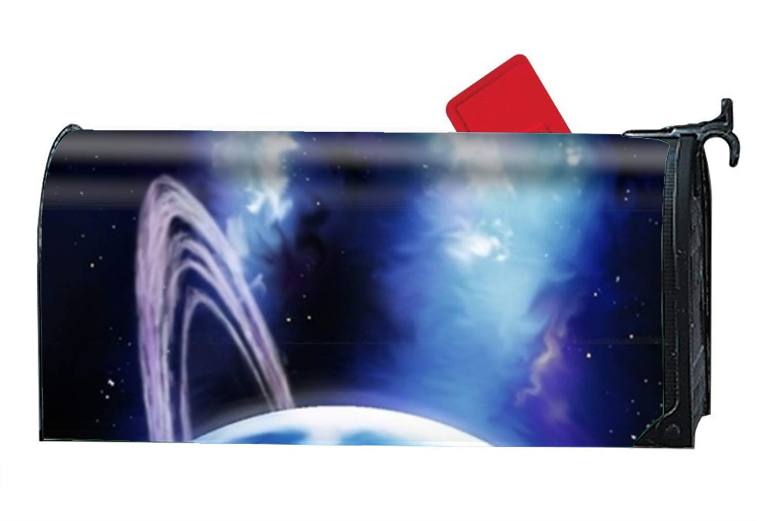 FANMIL Galaxy Planet - Mailbox Makeover - Vinyl Magnetic Cover
