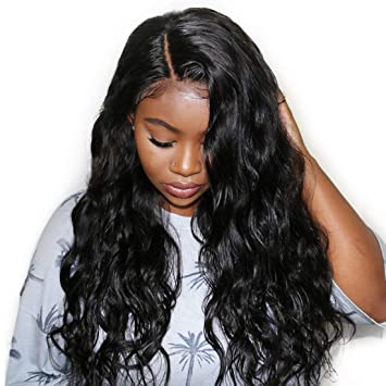 Human Hair Lace Wigs Soul Lady 13x4 Lace Front Straight Human Hair Wigs For Black Women Brazilian Hair Wig Remy Natural Black Pre Plucked Lace Wig In Many Styles