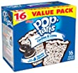 Kellogg's Pop-Tarts Frosted Toaster Pastries, Frosted Cookies and Creme, 16 Count