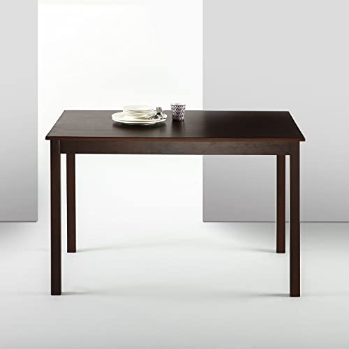 Zinus Juliet Espresso Wood Dining Table Table Only