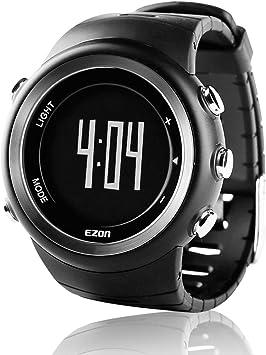 EZON T023 Relojes deportivos digitales de los hombres Reloj de ...