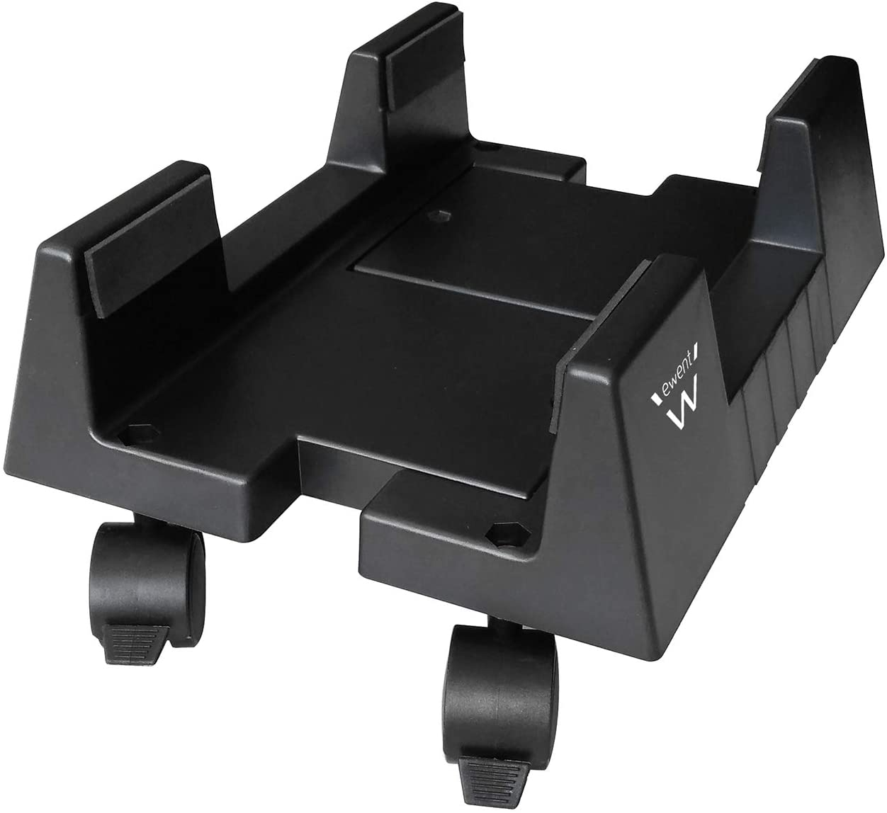 Ewent EW1290 - Soporte (Cart CPU Holder, Escritorio, 8 kg, Negro, ABS sintéticos, Horizontal)