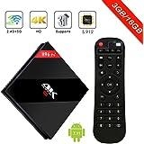 H96 PRO plus Android 7.1 TV Box 3G 16GB Amlogic 912 64bit Octa Core 4K Cortex-A53 Smart Set top box Supporto Doppio WiFi 2.4G / 5.8G Bluetooth 4.1 1000M Ethernet 3D playing