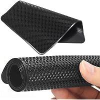 JKoYu Useful Car Decoration Auto Interior Accessories Car Vehicle Dashboard Non-Slip Mat Pad Magic Key Mobile Phone Sunglasses Holder - Black