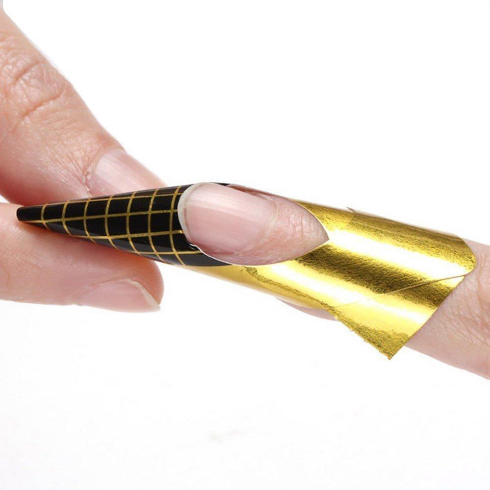 NaiseCore Nail Art Tips Guía de extensiones de uñas, acrílico y gel UV